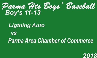 180629 Parma Heights Boy's 11-13 Baseball Power's Field