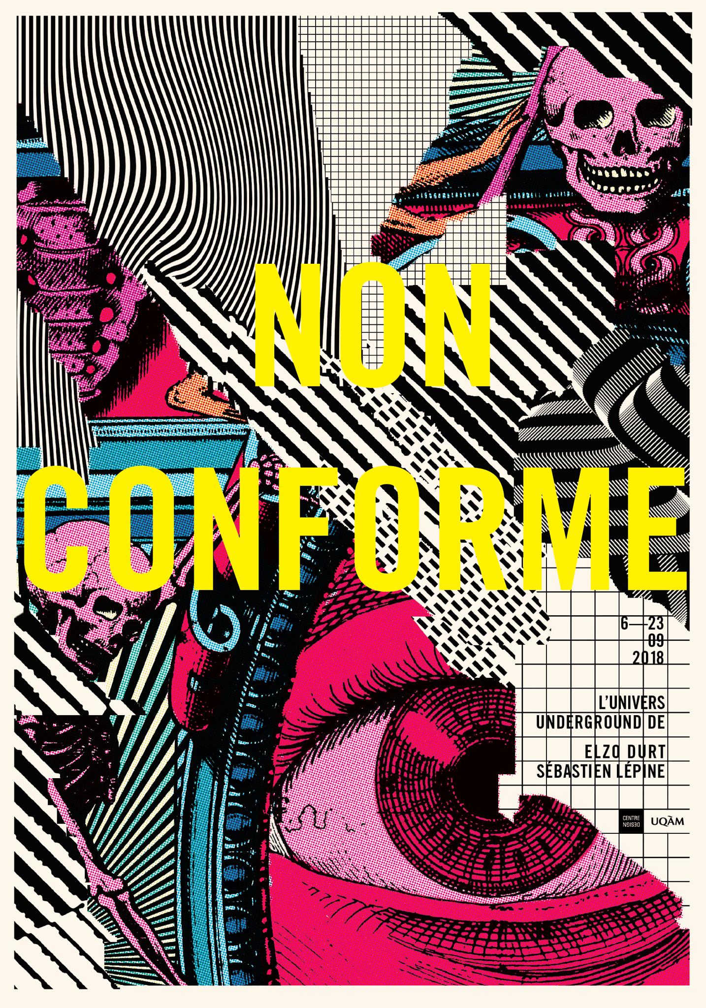 2018 - Exposition - Non Conforme L'univers underground de Elzo Durt et Sébastien Lépine ©Elzo Durt et Sébastien Lépine