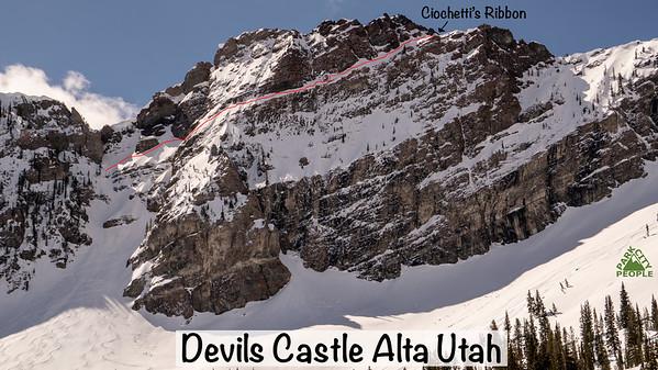 Devils Castle Ciochetti's Ribbon