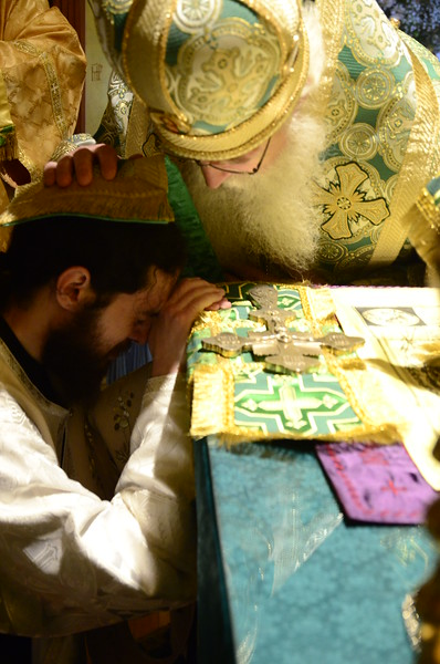 Holy Spirit Day & Ordination of Hieromonk Gabriel (2014)
