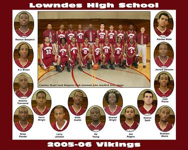 2005-06 Lowndes High Boys Basketball