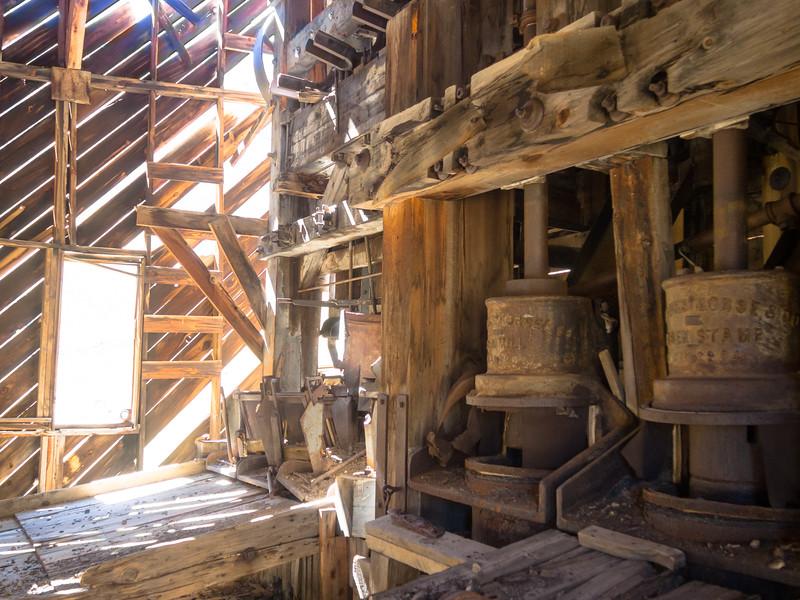 Interior of the Soutnd Democrat Mill