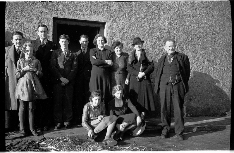 Hutchinson family, Ireland, 1938