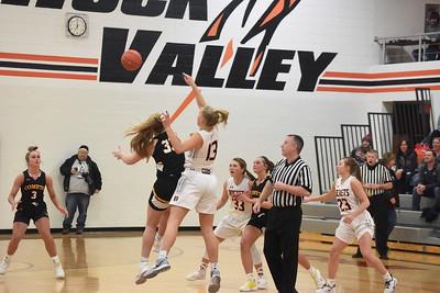 2021-02-13 Boyden-Hull @ Rock Valley (2A Girls Reg. Basketball)
