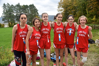 LTS Girls X-C At BBA photos by Gary Baker