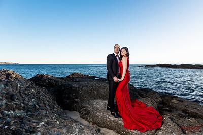 Laguna Beach Glamour Engagement