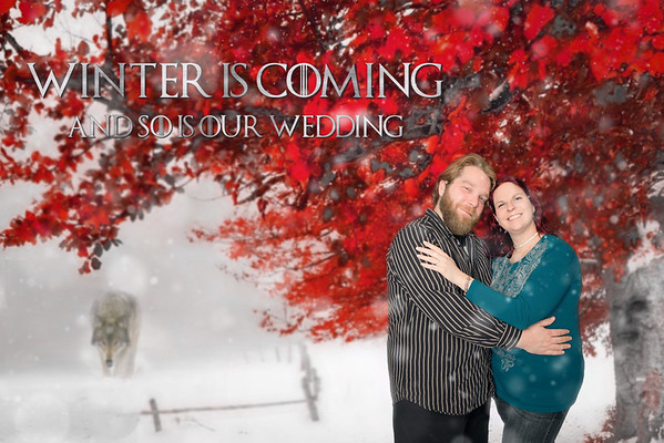 Melissa and Joshua Game of Thrones Engagment