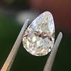 2.61ct Antique Pear Cut Diamond GIA I SI1 2