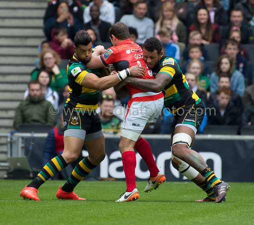 Northampton Saints vs Saracens, Aviva Premiership, Stadium MK, 16 April 2017