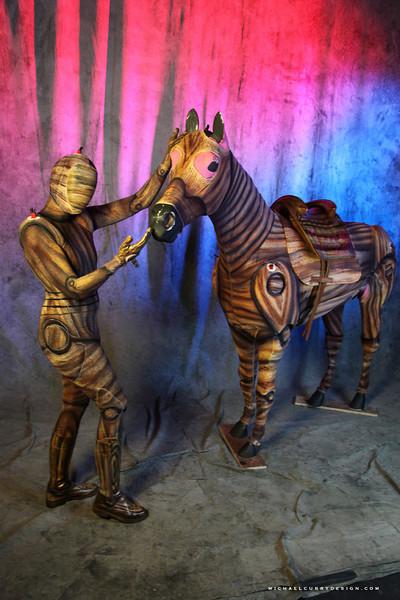 MAGNIFICO WOODEN HORSE & RIDER (40).JPG