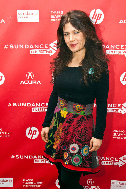 . Chris Detrick  |  The Salt Lake Tribune Composer Lili Haydn poses for pictures before the premiere of \'Anita\' during the 2013 Sundance Film Festival in Park City, Utah Saturday January 19, 2013