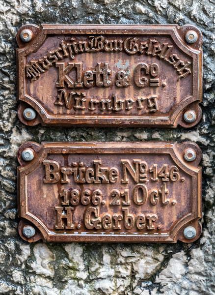 Bridge placards