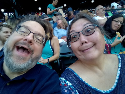 Mariners Game with Kay - July 2018