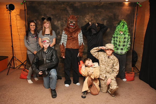 Halloween at the Slagle's 2011