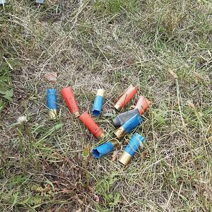 Amunicja, bałwanki, śmieci