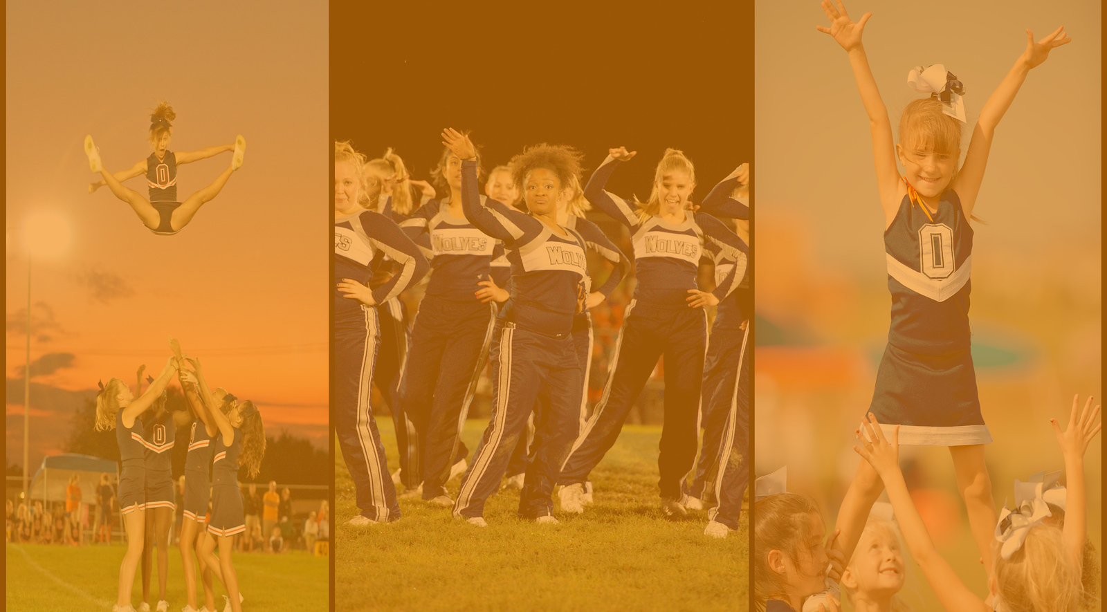 cheer collage for website orange