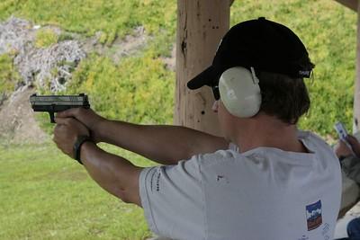 At the range...