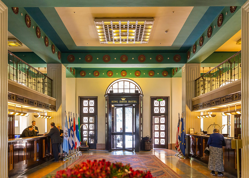 Lobby King David Hotel