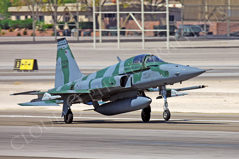 F-5FORG 00003 Northrop F-5E Freedom Fighter Brazilian Air Force 4865 Nellis AFB by Peter J Mancus.JPG