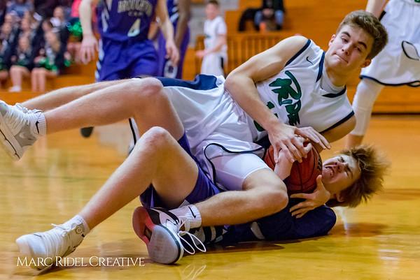 Broughton JV boy's basketball vs Leesville. January 29, 2018.