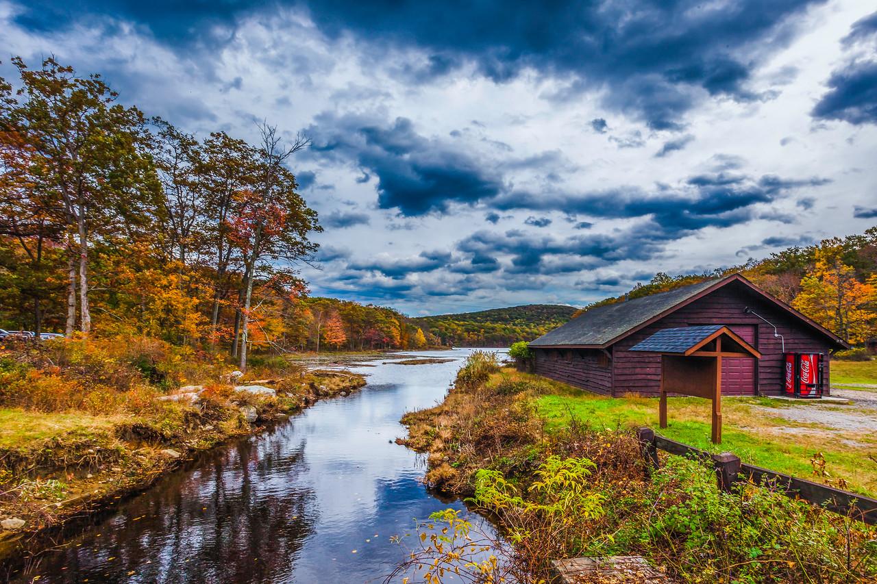 纽约州哈里曼州立公园(Harriman State Park),那年秋天