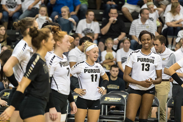 Purdue Volleyball vs Rutgers 2016-10-15