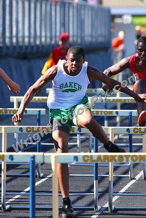 """2011 06 02 Boys 55 m (33"""") Hurdles Final"""