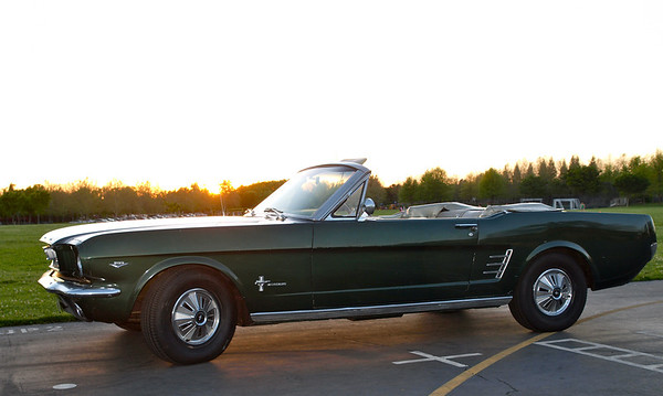 Cindy's 1966 Mustang