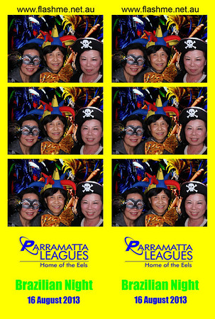 Parramatta Leagues Club VIP Brazilian Night - 16 August 2013