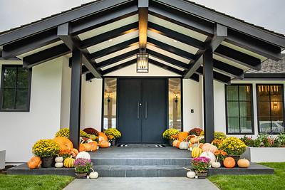 Harper Design Fall Front Porch Install
