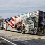9/11 NEVER FORGET Mobile Exhibit visits Ponaganset HS, RI-2021