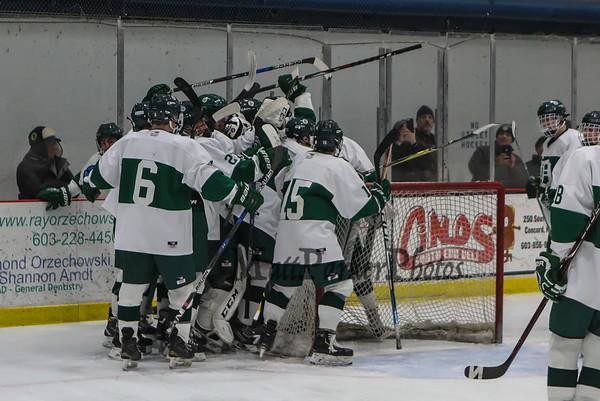 2019-3-6 Dover Boys DIV II Hockey vs Merrimack