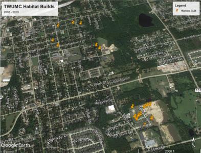 About TWUMC Habitat Builds