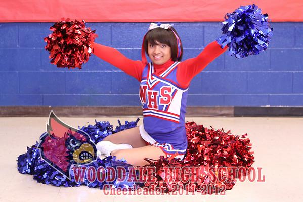 Woodale High School Cheerleaders