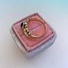 1.75ctw Cab Sapphire and Old European Cut Diamond 3-stone Ring 29