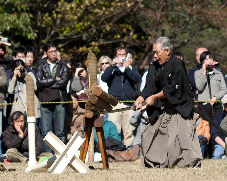 Japan National Culture day festivities at Meiji Jingū
