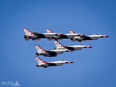 Thunderbirds LA Flyover - 05-15-2020