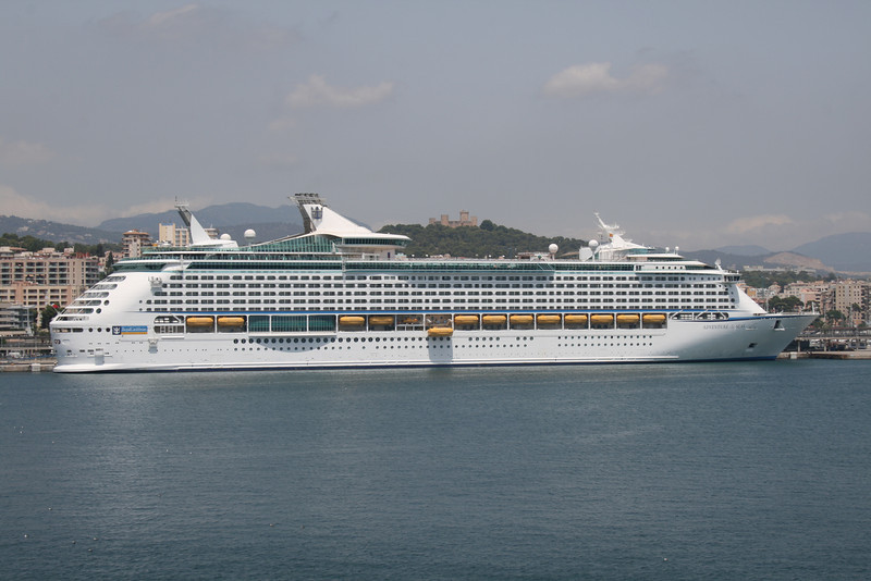ADVENTURE OF THE SEAS in Palma de Mallorca.
