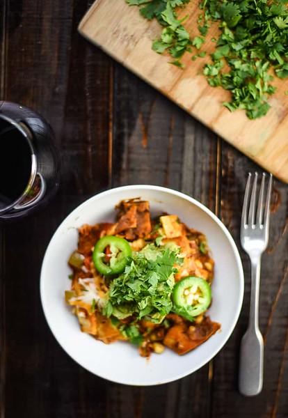 Vegan Mexican Casserole - Vegan Mexican recipes