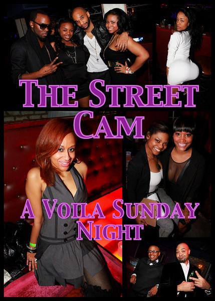 The Street Cam: A Voila' Sunday Night