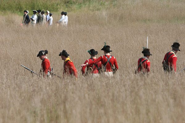 British Skirmishers - Wilmington, Delaware