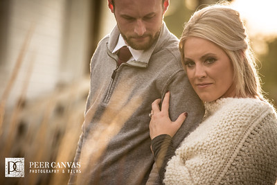 Carly and Mark | Beckman Mill Fall Engagement