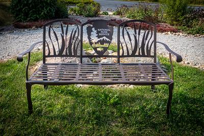 NPS Ornate Bench