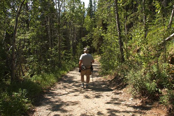 2015 Denali Triple Lakes Trail Hike (June)