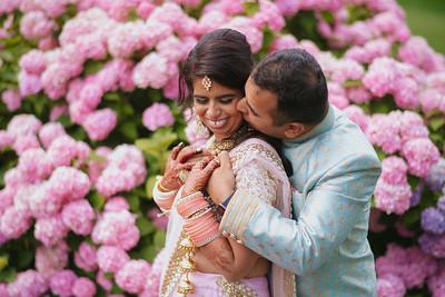 Anandi + Anuj Wedding