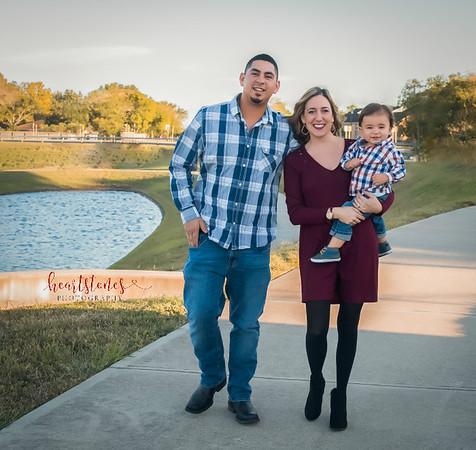De La Garza Family Photos - October 2017