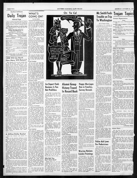 Daily Trojan, Vol. 31, No. 30, October 26, 1939