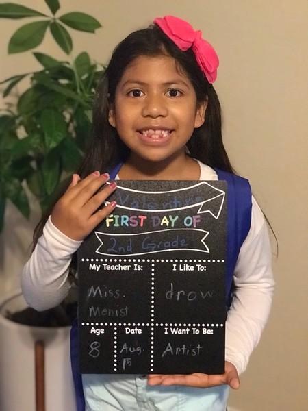 Valentina | 2nd grade | Rutledge Elementary