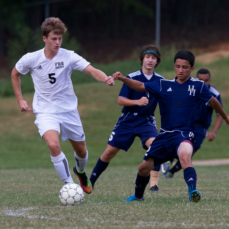 Gazette Cup Championship - Hunter Huss vs. Forestview - 8/23/14