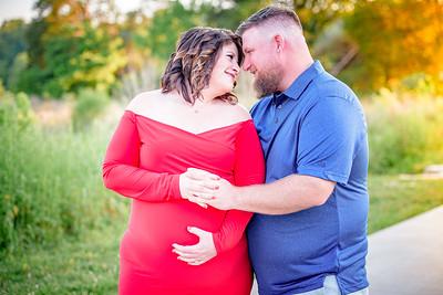 David & Brittany maternity